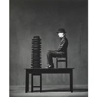 sonntagsneurosen (8 works) by jürgen klauke