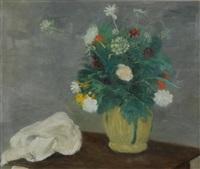 composizione con fiori by renato vernizzi
