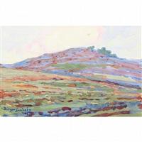 california landscape by birger sandzen