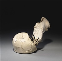 fußball by y. fongi and günther uecker
