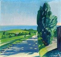 vej mod havet (road to the sea) by axel bentzen
