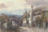 the ship inn at porlock by alfred leyman