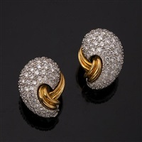 pair of earrings by kurt wayne