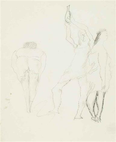 trois femmes by jules pascin