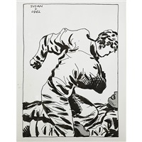 untitled (susan and odel) by raymond pettibon