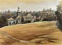 kloster und kirche st. gallus by eugen leitner