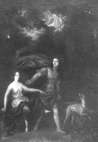 diana and endymion by noël nicolas coypel