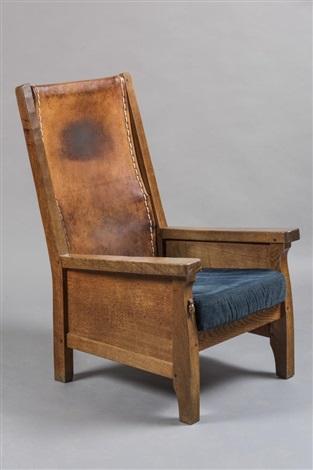 Strange A Robert Thompson Adzed Oak Smoking Chair By Robert Thompson Frankydiablos Diy Chair Ideas Frankydiabloscom