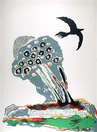 black bird by benny andrews