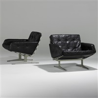 lounge chairs (pair) by paul leidersdorff