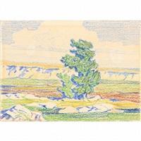 western landscape by birger sandzen