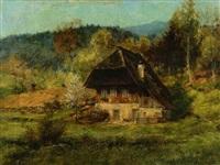 schwarzwaldhaus by wilhelm g. hasemann