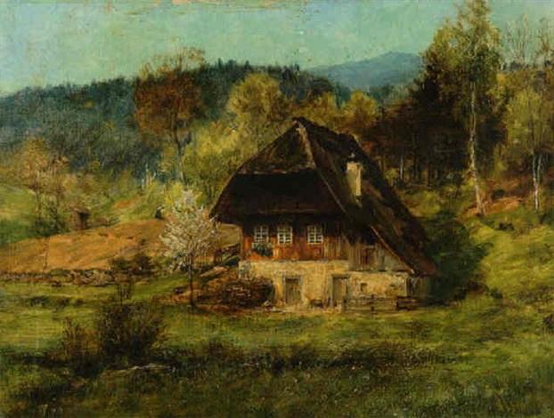 schwarzwaldhaus by wilhelm g hasemann