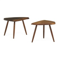 wepman tables (pair) by george nakashima