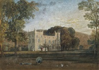 clontarf castle, co. dublin by joseph mallord william turner