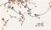 花鸟 by ji yusheng