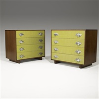 pair of dressers by grosfeld house