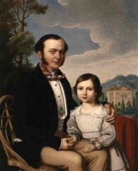 familienportrait by jakob (johann) hermann