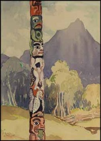 tsimshian pole - hazelton by mildred valley thornton
