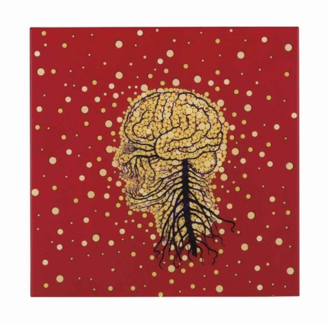 red head by fred tomaselli