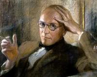 portrait of hpw by charlotte blakeney ward