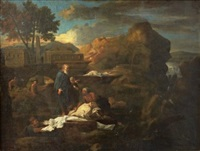 lasarus uppväcks från de döda by gaspard dughet