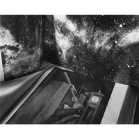 two books of astronomy by abelardo morell