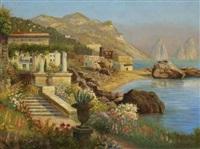 küste auf capri by alwin arnegger