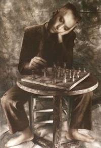 giocatore di scacchi by william ropp