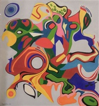 composition abstraite by isabelle lepeintre