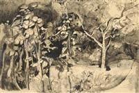 study of foliage by john minton