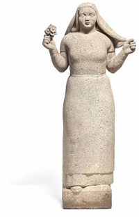 kretapige (girl from crete) by adam fischer