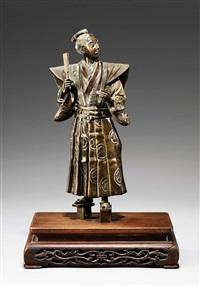 samurai in formeller tracht by yoshimitsu