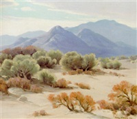 desert scene by perry mcneely