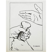 untitled (my orgasm.) by raymond pettibon