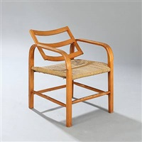 rare easy chair with adjustable back by magnus læssoe stephensen