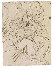 engel mit dem kind by parmigianino