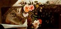 balcón con mantón y flores by horacio lengo y martinez