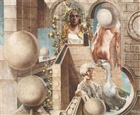 suspended spheres by siegfried gerhard reinhardt