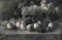 landschaft auf der insel porquerolles by albert frey