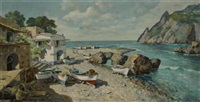 a seaside village by carlo ciappa