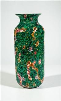 vase ''kiku'' by vetreria fratelli toso