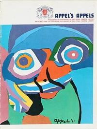 exhibition catalogue with 1 work by karel appel