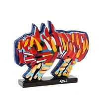 clown cat by karel appel