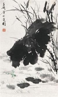 荷塘 by wang xuetao