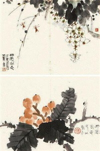 枇杷蜜蜂 (2 works) by jiao yu