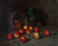 äpfelkorb und krug by aloys eckardt
