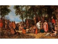 die predigt johannes des täufers by david vinckboons
