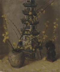 the pagoda by charles daniel ward