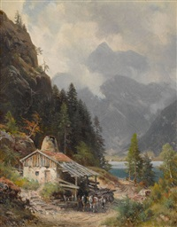 partie am schliersee by ludwig sckell